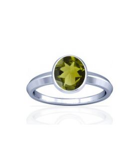 Peridot Sterling Silver Ring - K1