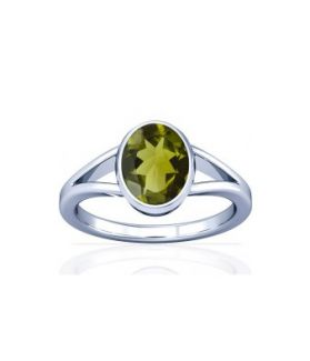 Peridot Sterling Silver Ring - K2