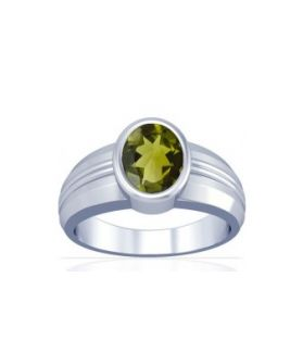 Peridot Sterling Silver Ring - K4