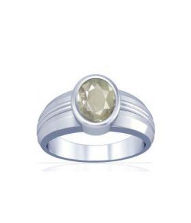 White Quartz Sterling Silver Ring - K4