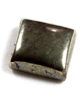 36.21 CT Natural Pyrite Rectangular Cabachon Shape 17.96x15.27x6.59mm