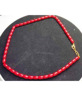 Best Red Coral Rosary 27 Gram (Length 18 Inch)
