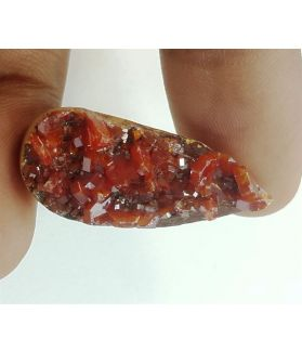 26.64 Carats Natural Vanadinite-Wulfenite 30.06 X 12.92 X 7.44 mm