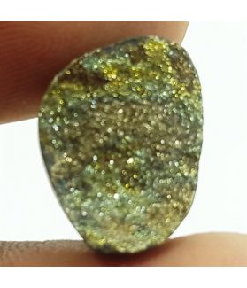 5.87 Carats Natural Spectro Pyrite Druzy 13.42 X 11.05 X 4.17 mm