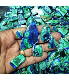 Azurite-Malachite A+++ Quality  Wholesale Lot Gemstone