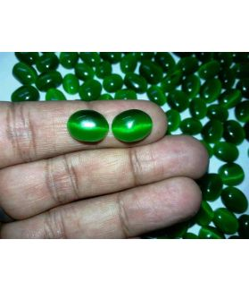 Green Cat's Eye  Wholesale Lot Gems