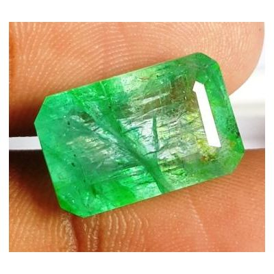 10.79 Carats Natural Columbian Emerald 15.74 x 10.22 x 7.38 mm