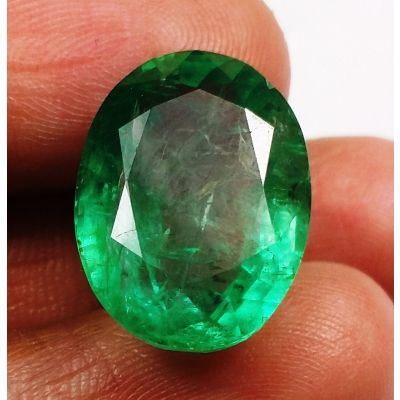 12.48 Carats Colombian Emerald 15.02 x 11.94 x 8.28 mm