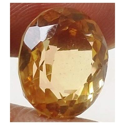 9.17 Carats Natural Yellow Citrine 13.50 x 10.64 x 9.44 mm