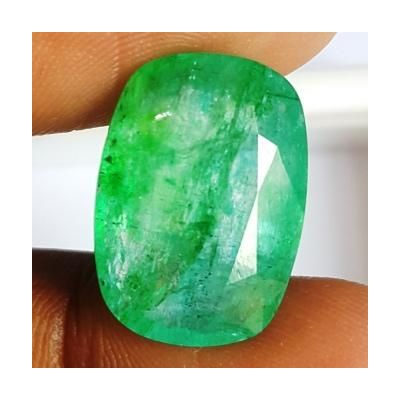 10.47 Carats Natural Columbian Emerald 17.87 x 12.76 x 6.11 mm