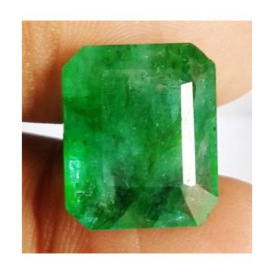 12.26 Carats Natural Zambian Emerald 15.71 x 13.23 x 6.64 mm