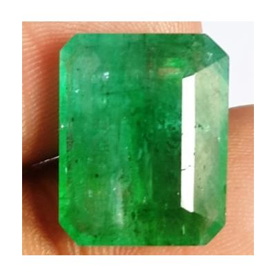 10.47 Carats Natural Zambian Emerald 15.82 x 12.57 x 5.64 mm