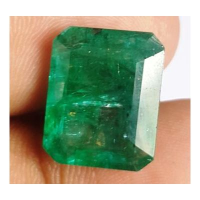 10.05 Carats Natural Zambian Emerald 14.81 x 11.99 x 6.60 mm