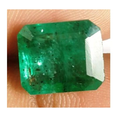 10.32 Carats Natural Zambian Emerald 13.88 x 12.25 x 7.00 mm