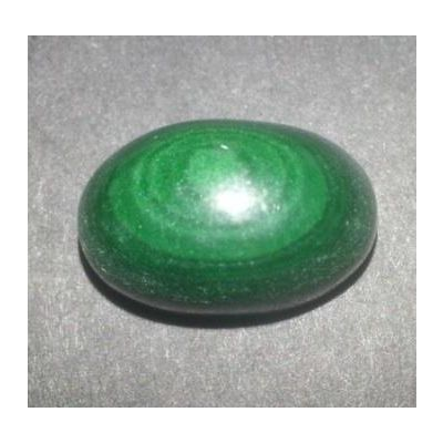 20.75 Carats  Natural Malachite Gemstone 17.10*11.10*9.01 mm