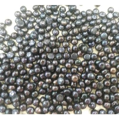 Button Shaped Fresh Water Pearl Undrilled 105/107_38.1