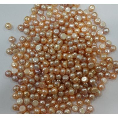 Button Shaped Fresh Water Pearl Undrilled 105/107_42.1