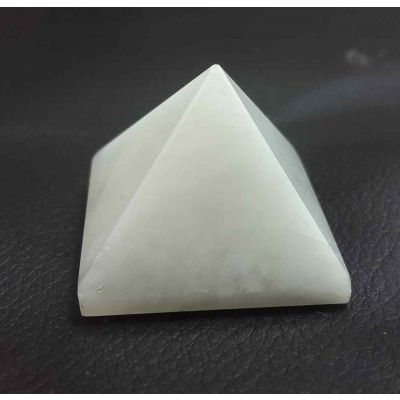 White Agate  Pyramid