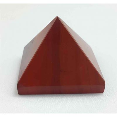 Small Red Jasper Pyramid 21 to 23 Gram