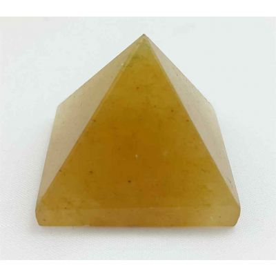 Small Yellow Aventurine Pyramid 21 to 23 Gram