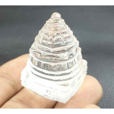 9 Gram Crystal Shree Yantra 22 x 18 x 18 mm