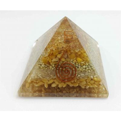 Annapurna Copper Coil Pyramid  60 to 80 mm
