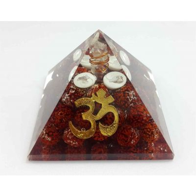 Om Rudraksha  Pyramid 65 to 80 mm