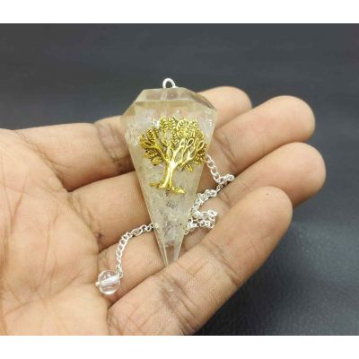 Crystals Quartz Pendulum 41 x 22 mm