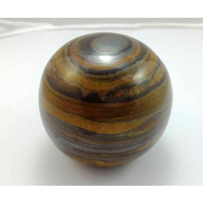 Tiger Eye Stone Ball 706 Gram