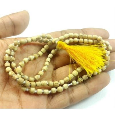 Ceylon Rare Small Tulsi Mala 16-18 mm (Length 20 Inch)
