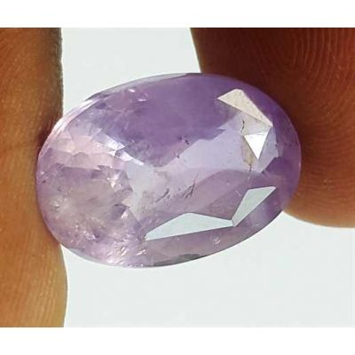 7.89 Carats Bluish Purple Sapphire Oval Shaped 14.45x9.93x6.14 mm