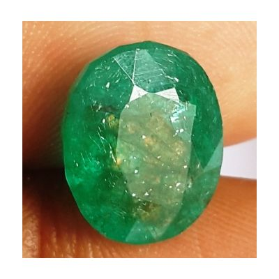 13.25 Carats Natural Zambian Emerald 18.05 x 14.62 x 7.29 mm