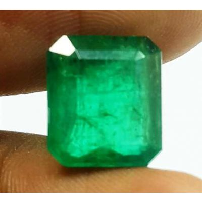11.77 Carats Green  afghanistan emerald 10.72x9.45xx6.05 mm
