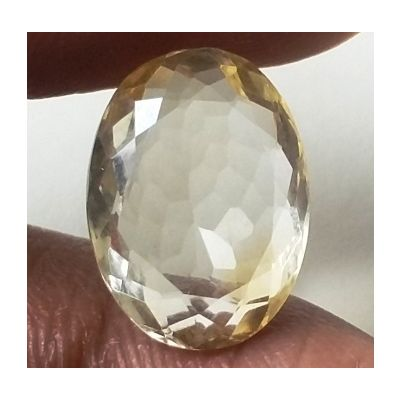 5.16 Carats Natural Yellow Citrine 13.60 x 10.08 x 5.36 mm