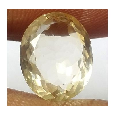 6.12 Carats Natural Yellow Citrine 13.39 x 10.79 x 6.41 mm