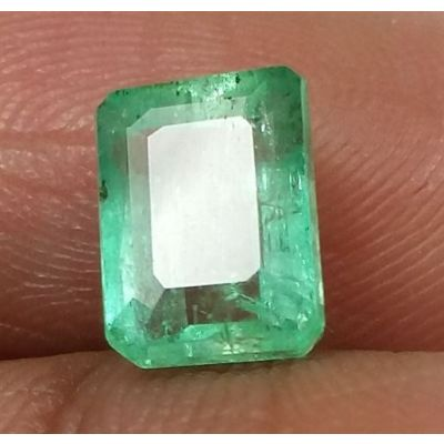 1.74 Carats Colombian Emerald 6.56 x 5.97 x 4.28 mm