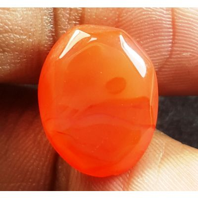 6.11 Carats Natural Red Agate 14.36 x 11.20 x 6.15 mm
