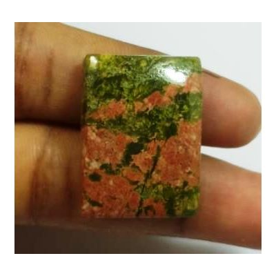 35.18 Carats Natural Unakite Cushion Shape 24.93x18.29x6.53mm