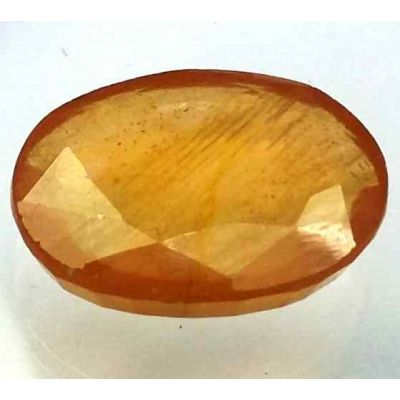 15.24 Carats African Padparadscha Sapphire 17.77 x 13.50 x 5.18 mm