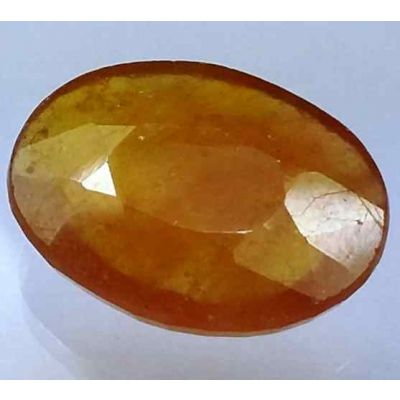 12.01 Carats African Padparadscha Sapphire 16.81 x 12.56 x 5.15 mm