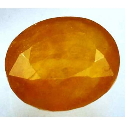 14.38 Carats African Padparadscha Sapphire 15.26 x 13.50 x 6.11 mm