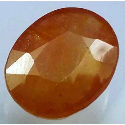 11.37 Carats African Padparadscha Sapphire 14.37 x 12.01 x 5.99 mm