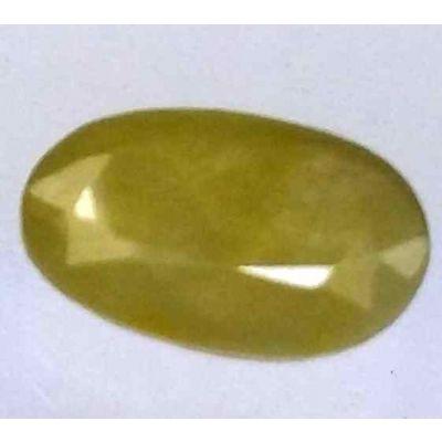 4.57 Carats African Green Sapphire 12.58 x 8.28 x 3.67 mm