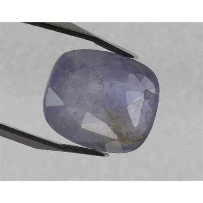 6.00 Carats Purplish Blue Sapphire 11.75 x 10.00 x 4.60 mm