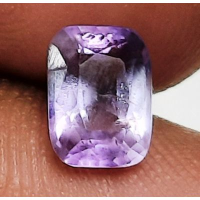 1.30 Carats Natural Purple Spinal 7.50 x 5.57 x 4.40 mm
