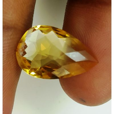5.42 Carats Natural Yellow Citrine 17.17 x 11.10 x 5.85 mm
