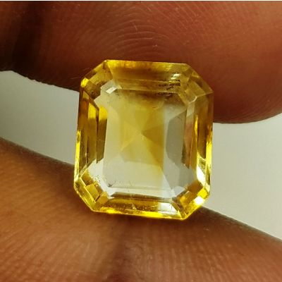 5.40 Carats Natural Yellow Citrine 11.77 x 9.80 x 6.55 mm