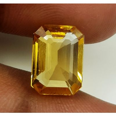 4.57 Carats Natural Yellow Citrine 11.40 x 8.38 x 5.86 mm