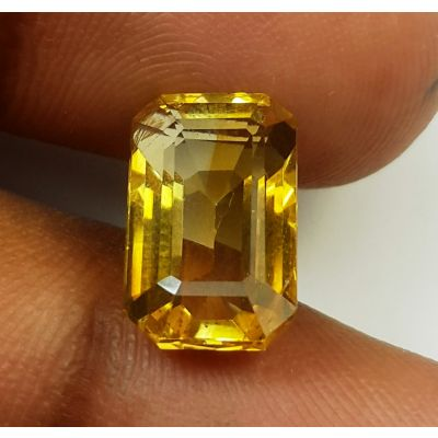 5.15 Carats Natural Yellow Citrine 12.80 x 7.97 x 6.06 mm