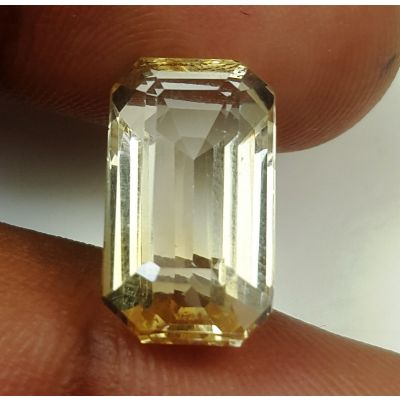 7.80 Carats Natural Yellow Citrine 15.72 x 8.57 x 6.95 mm